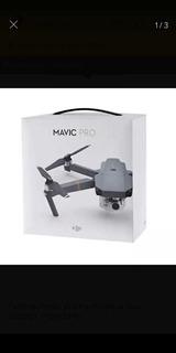 Drone Plegable Mavic Pro Dji. Cómo Nuevo! Excelente Estado