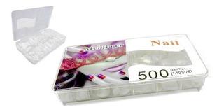 Uñas Postizas Caja De 500 Unidades Oferta !!!