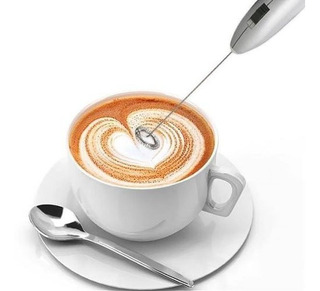 Batidora Electrica Pilas Cappucino Bebidas Cafe Leche Sopa $