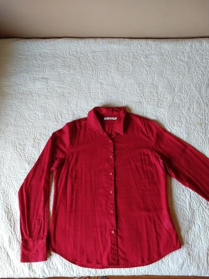 Camisa Roja Como Nueva