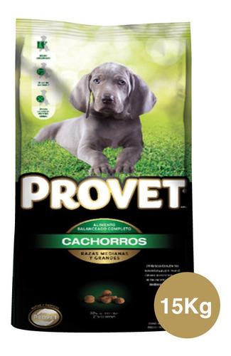 Provet Cachorros Razas Medianas Y Grandes X 15kg