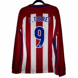 Atlético De Madrid Manga Larga Version Jugador F. Torres #9