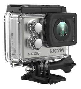 Câmera Sjcam Sj7 Star 4k 32gb + Bastao Controle + Microfone