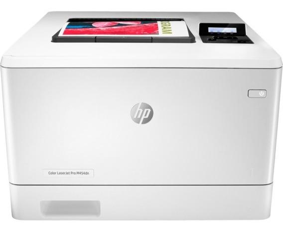 Impressora Laser Colorida Hp M454dw M454 Rede E Wifi