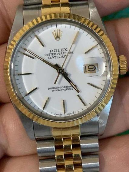 Rolex Datejust Acero Oro Cambio Rapido Jubilee Impecable Sub