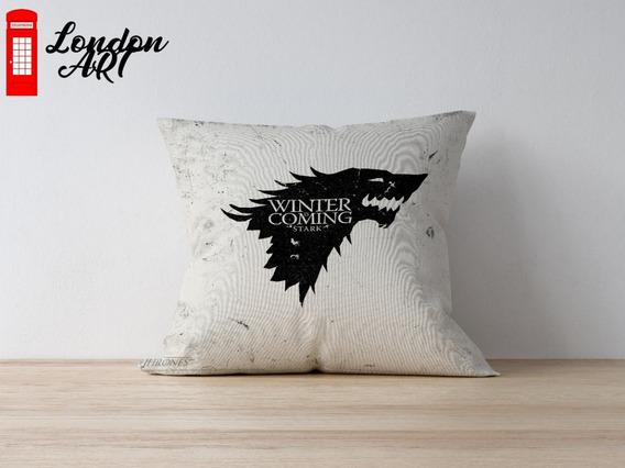 Almofadas Decorativas Casas De Game Of Thrones 30x30 Premium