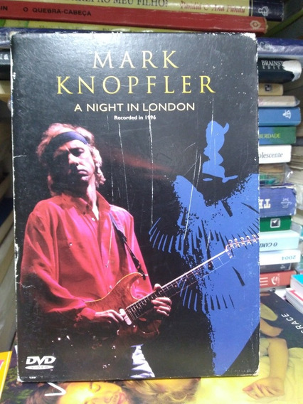 Dvd Mark Knopfler - A Night In London .