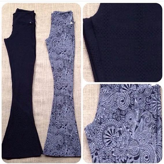 Calça Flare Plus Size Jacar Tecido Com Relevo Varias Cores