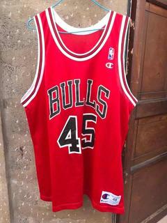 Michael Jordan #23 & #45 Chicago Bulls Champion Talla 48