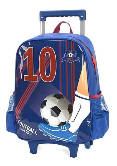 Mochila Rodinha Football Luxcel 011520