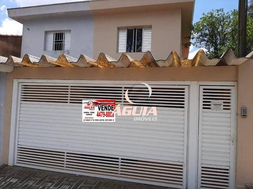 Imagem 1 de 25 de Sobrado Com 2 Dormitórios À Venda, 151 M² Por R$ 435.000,00 - Vila Linda - Santo André/sp - So1422