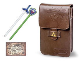 Case The Legend Of Zelda Pouch Kit - Nintendo 3ds Xl 2ds Xl