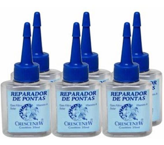 Reparador Pontas Hidratação Cabelo Seco - Crescenew 6 Unid