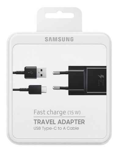 Cargador Carga Rapida Samsung Original + Cable Usb Tipo C ®