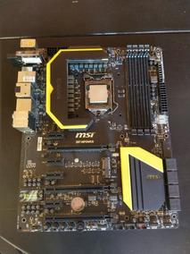 Kit Placa Mãe Msi Z87 + I7 4790k + 16gb Ddr3 2400 + Cooler