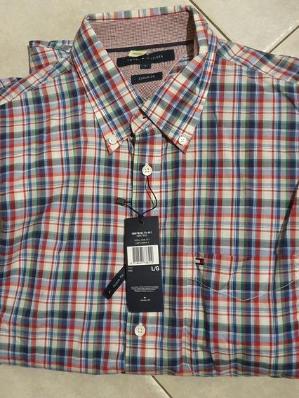 Camisa Tommy Hilfiger Talle L