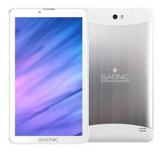 "Tablet Gadnic Indus Phone 7"" 16GB blanca con memoria RAM 1GB"