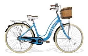 Bicicleta Feminina Gts Aro 26 Cestinha | Gts M1 Retrô City