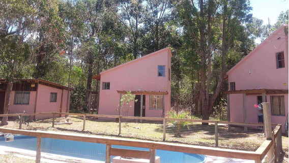 En Venta, Casa Y Cabañas En La Esmeralda, Rocha,u$s 198000.-