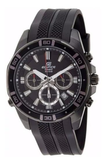 Relógio Casio Edifice Original Wr-100m Racing Led