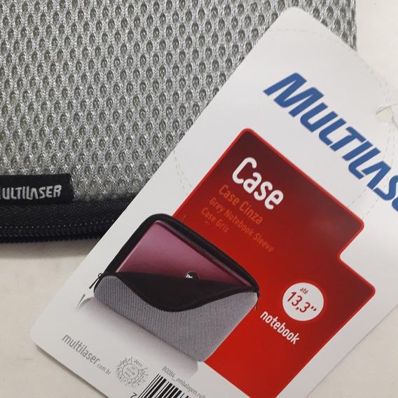 Capa Case Notebook Multilaser Até 13,3 Pol - 35 X 25 Cm