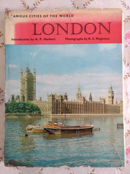 Antigo Livro Fotográfico London - 1959