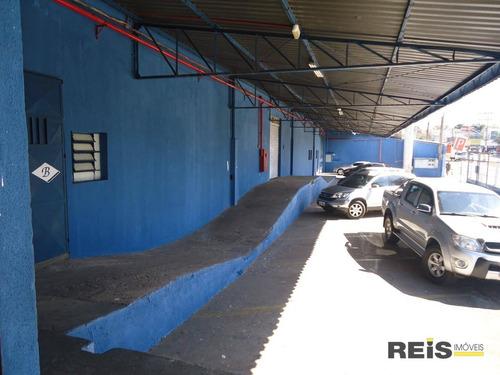 Barracão Para Alugar, 1686 M² Por R$ 25.000,00/mês - Vila Nova Sorocaba - Sorocaba/sp - Ba0005