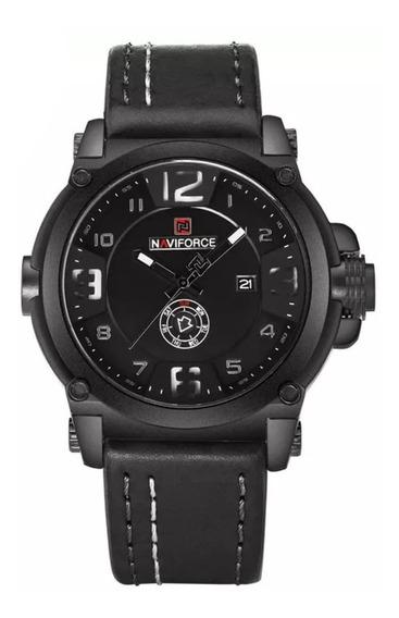 Relógio Naviforce Nf9099 Original Social Militar Masculino