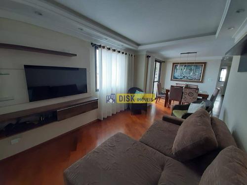 Cobertura Com 3 Dormitórios À Venda, 183 M² Por R$ 890.000,00 - Vila Lusitânia - São Bernardo Do Campo/sp - Co0065
