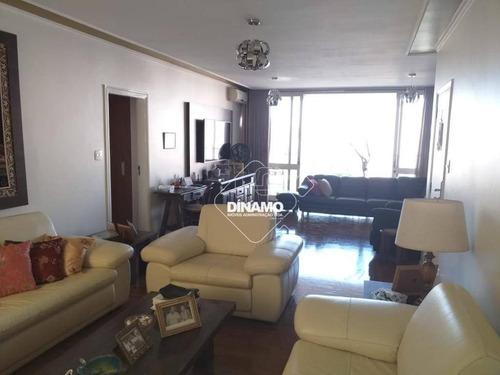 Apartamento Com 3 Dormitórios À Venda, 240 M² - Centro - Ribeirão Preto/sp - Ap3447