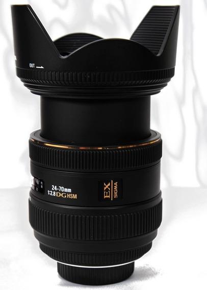 Lente Sigma 24-70 Fotos Originais Nikon.entrega Normal.