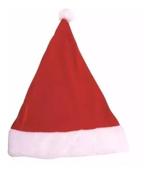 50 Gorros Touca De Papai Noel Para O Natal Oferta Atacado