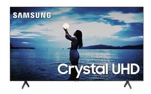 Smart Tv Led 75 4k Crystal Uhd Samsung Tu7020 Tela Quebrada