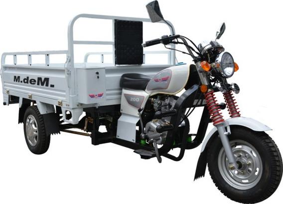 Motocarro Carga 600kg 200cc Ferreteria Panaderia Garrafonero