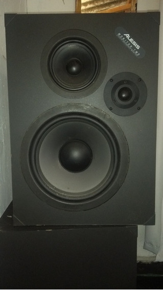 2 Caixas Monitor Alesis Two Para Studio.