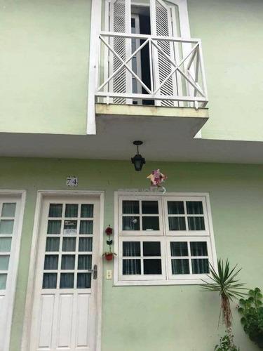 Sobrado Com 2 Dormitórios À Venda, 102 M² Por R$ 370.000,00 - Nova Petrópolis - São Bernardo Do Campo/sp - So0317