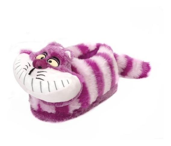 Pantufa 3d Gato Risonho Cheshire