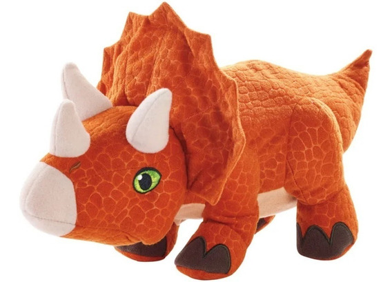 Pelúcia Jurassic World Ovo Dino Triceratops Ftf01 - Mattel
