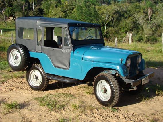 Jeep Willys 1964, Original, 6 Cilindros, 4x4 Ok, Cap. Gaucha