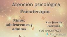 Psicologa. Ciudad De La Costa. Canelones