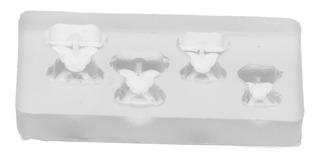 Moldes De Silicona Modelo Para Resina Epoxi Diy Manualidades