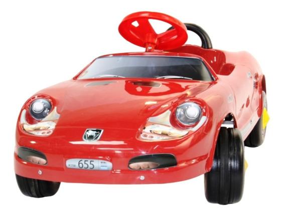 Karting A Pedal Infantil Tipo Porsche Auto R. (sin Luz)