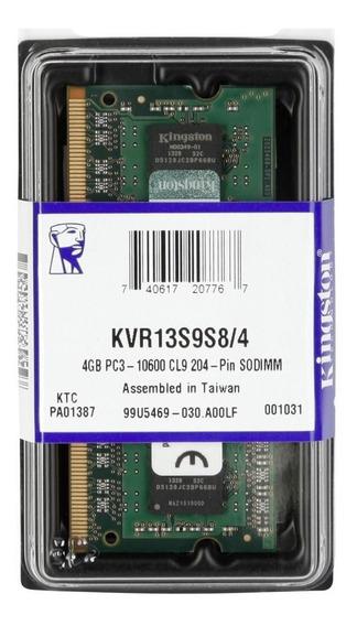 Memória Kingston 4gb 1333mhz Ddr3 P/ Notebook Cl9 -