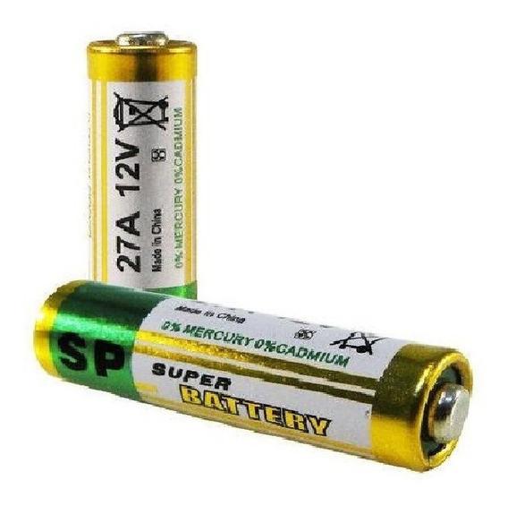 Pilha Bateria Alcalina Fina 27a 12v - Cartela C/ 5 Peças