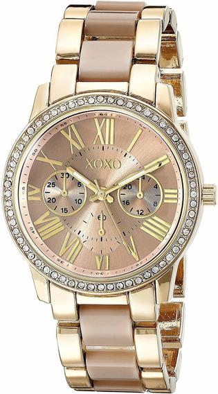 Reloj Para Mujer Xoxo® Xo5873 Regalo Dama + Pulsera