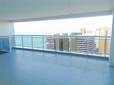 Cobertura Duplex Com 1 Quarto À Venda, 86 M², Área De Lazer, 2 Vagas, Vista Mar, Financia - Meireles - Fortaleza/ce - Co0041