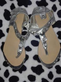 Venezuela Para Sandalias 32 Libre En Mercado Niña Plateadas Zapatos vm08NwOn