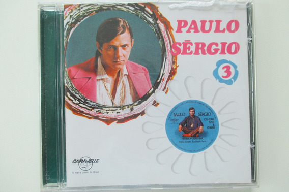 Cd Paulo Sérgio Vol 3 , Nov Íssimo Sem Uso
