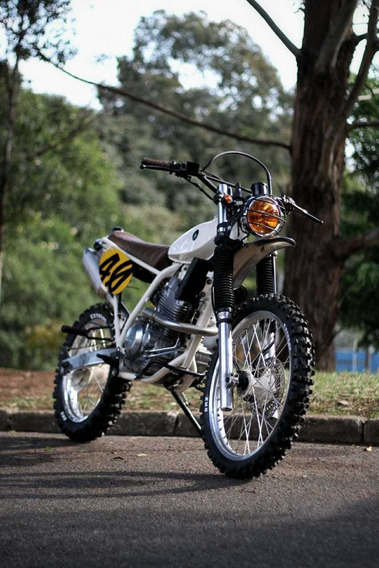 Honda Xr 250 Scrambler (customizada)
