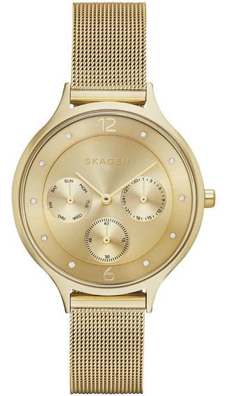 Relógio Skagen Ladies Gold Skw2313